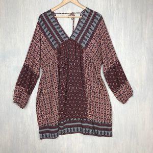 Umgee USA boho printed tunic plus size 2x